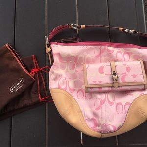 Coach purse tote and wallet